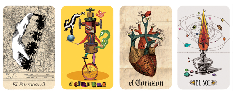 Monsters Loteria Cards