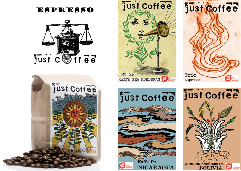 Just Coffee Labels