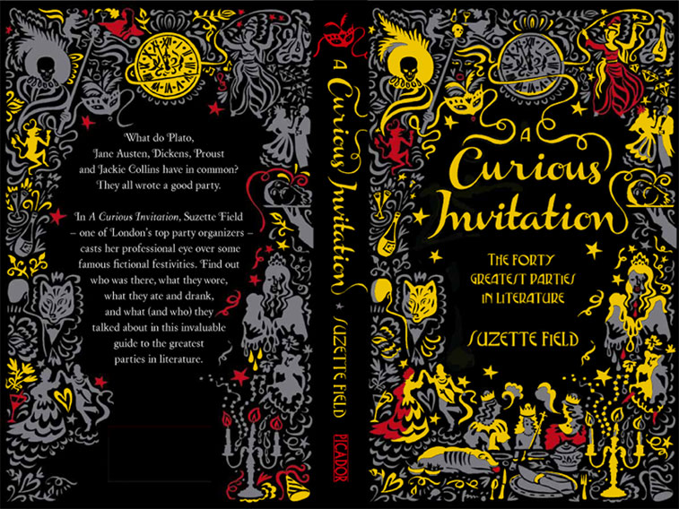 curious invitation cover