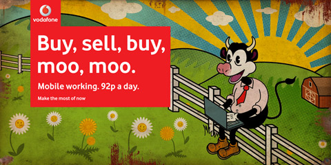 Buy Sell Moo Moo - Vodafone Billboard